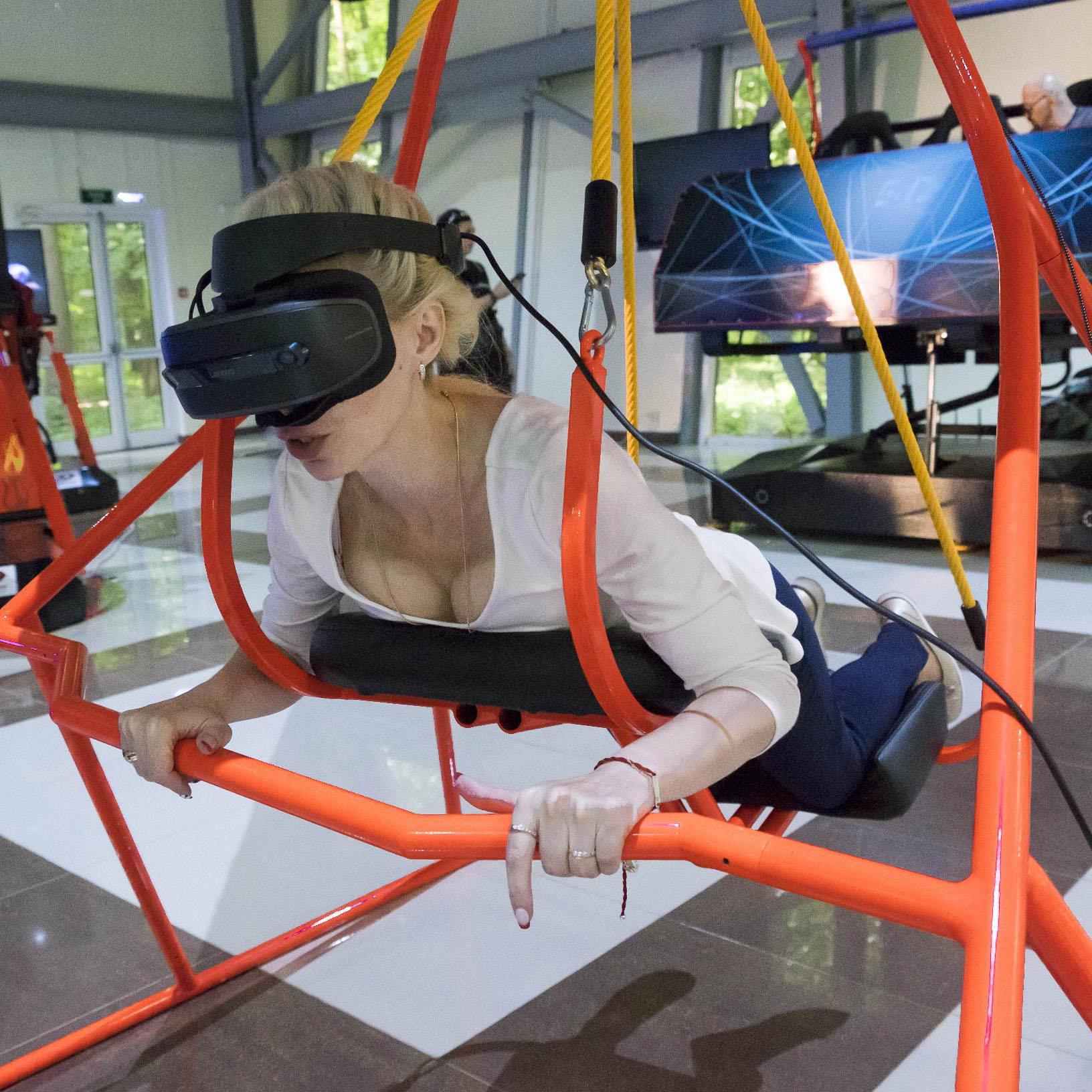 Дельтаплан VR