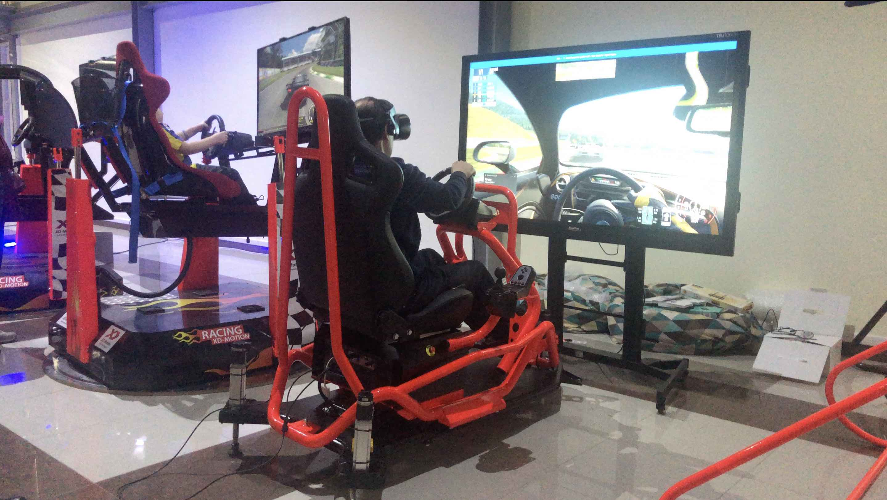 Авто Race-Motion VR