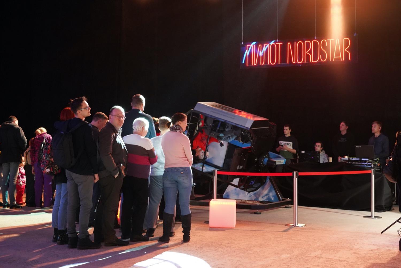 Авиасимулятор Fly-Motion для мероприятия «Норникель»