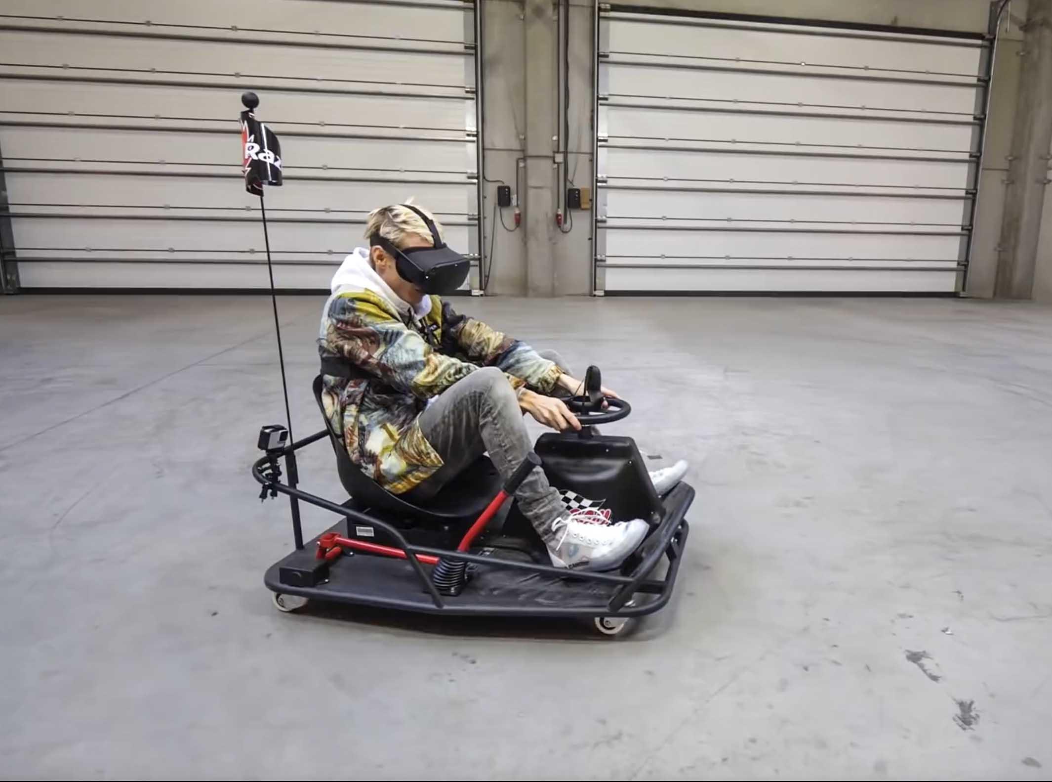 Гонки в виртуальной реальности Kart VR